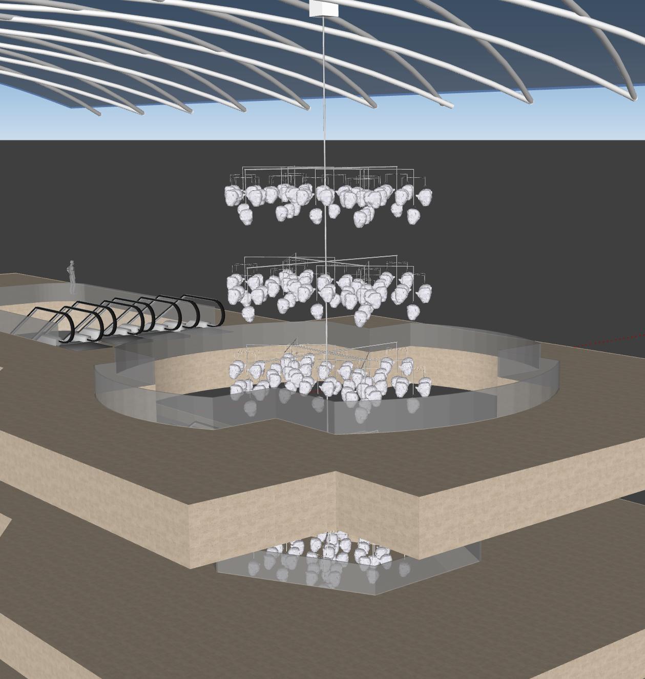 Arbre à Cocons 3D- Tsuyu Bridwell